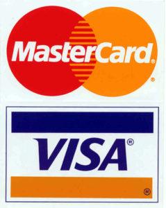 Оплата банковскими картами виза и мастеркард